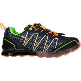 CMP Campagnolo Altak WP Chaussures de trail Enfant, navy-mint-orange fluo